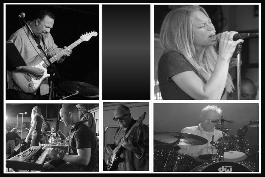 Top Row, left to right: Steve Coleman, Lacy Saunders Bottom Row: Greg Zink, Victor Rook, Mike McCraw